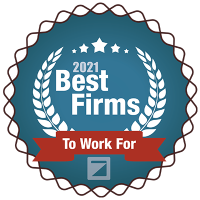 2021 best firms to work for award