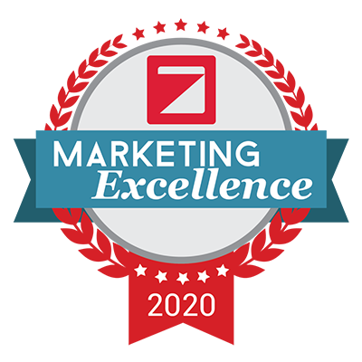Marketing Excellence badge 2020
