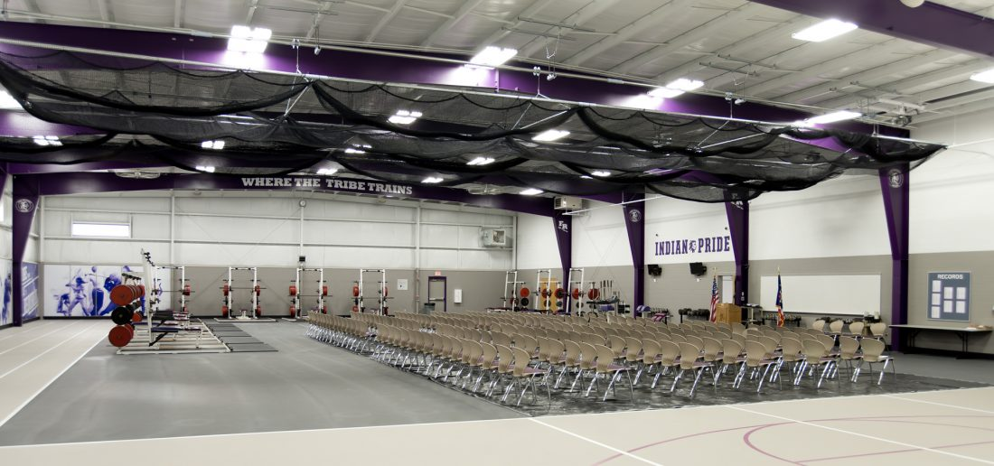 Fort Recovery Booster Building