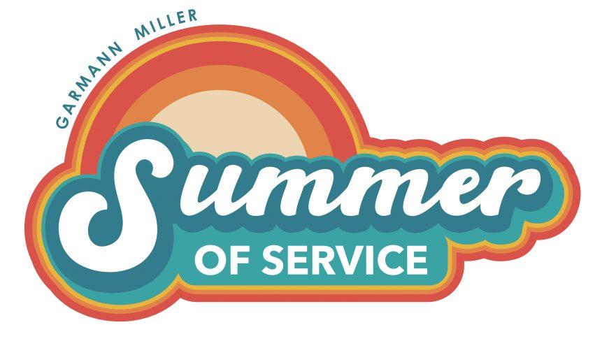 Garmann Miller's Summer of Service Logo